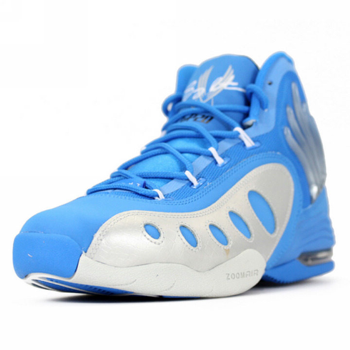 nike 耐克 男鞋 佩顿北卡蓝 猴爪篮球鞋 641333-400(641333-400 42)